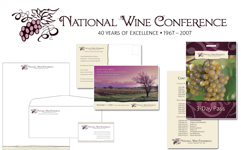 Proposed Logo & Branding for the National Wine Conference