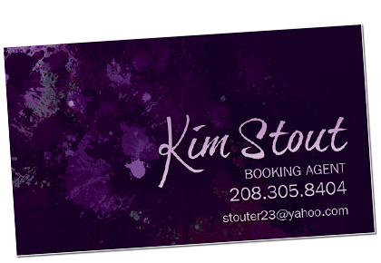 Kim Stout business cards