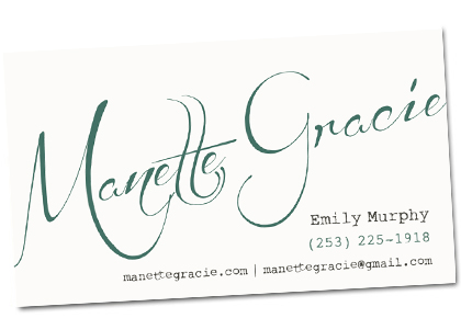 Manette Gracie Business Cards